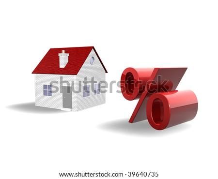 3d Illustration Looks Real Estate Per Stock Illustration 39640735