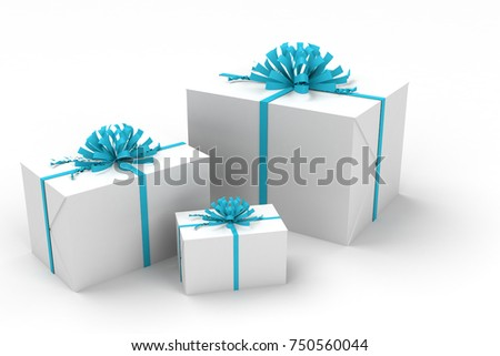 3d illustration gift boxes 750560044 shutterstock 3d illustration of gift boxes negle Image collections