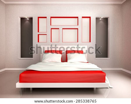 Modern Bedroom Red red bedroom stock images, royalty-free images & vectors | shutterstock