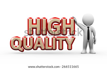 3d illustration of man standing with word text high quality.  3d rendering of human people character