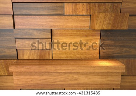 3D illustration , Wood texture background