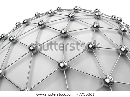 3d image of network concept - stock photo