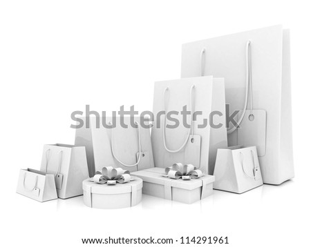 3D image of the text of a big sale - stock photo
