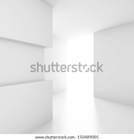 3d Interior Design - stock photo