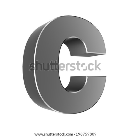 3d letter collection - Small cases -