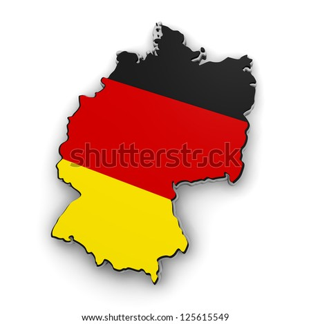 3d map of Germany