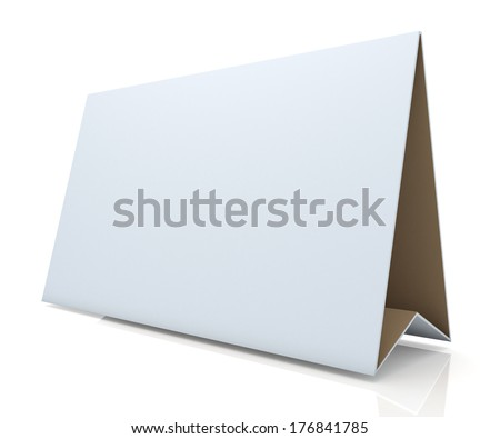 3d matte clean white and original brown papers carton wide desk display in isolated background with work paths, clipping paths included  - stock photo