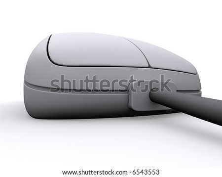 3d mouse - stock photo