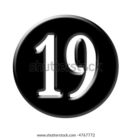 Number 19 Stock Photos, Images, & Pictures   Shutterstock