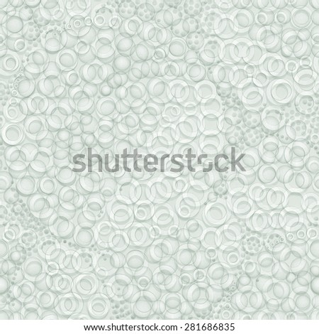 3d pattern,  bubbles, seamless - stock photo