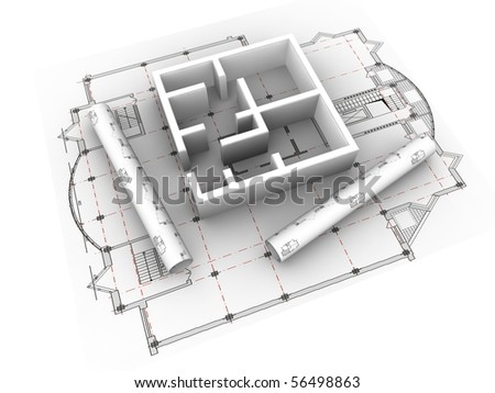 3d Plan Drawing Stock Photos Royalty Free Images
