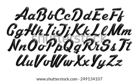 Letter Style Font