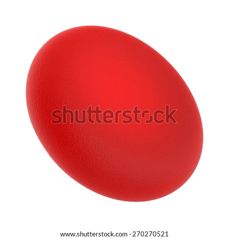 3d red blood cell - stock photo