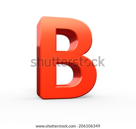 3d  red letter collection - B