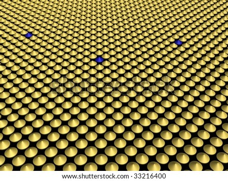 3d render abstract - stock photo
