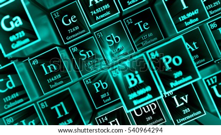 3 d render abstract chemical background periodic stock illustration 3d render abstract chemical background periodic table of elements mendeleevs table fragment urtaz Gallery