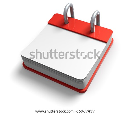 3D render illustration of blank desktop tap with copy space - stock photo