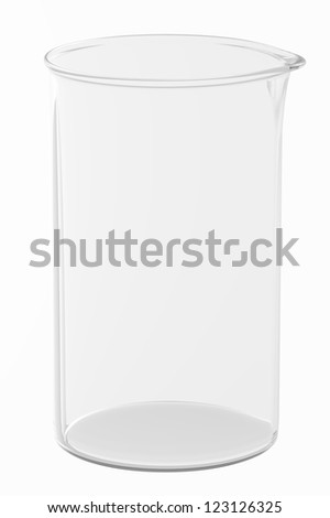 3d Render of a Beaker