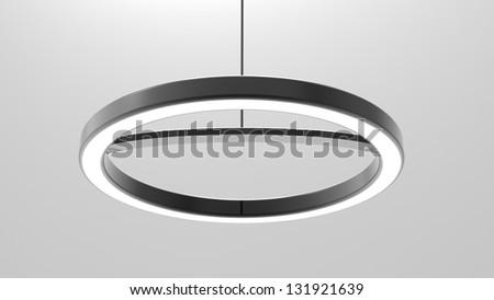 3d render of a Modern Light LED - stock photo