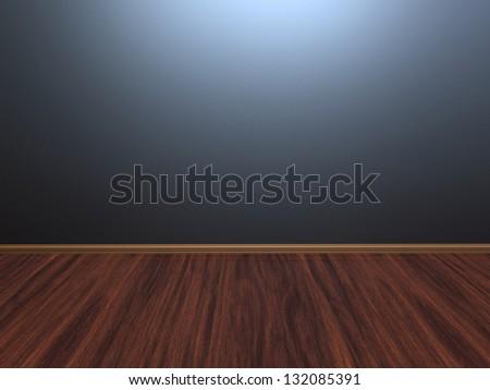 3d render of Empty Interior - stock photo