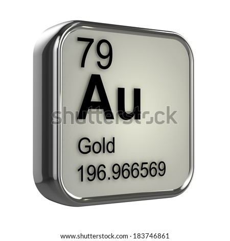 Gold periodic table stock images royalty free images vectors 3d render of gold element design urtaz Choice Image