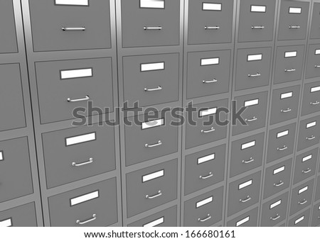 3d render of information search metaphor. - stock photo
