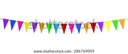 3d render of party decoration