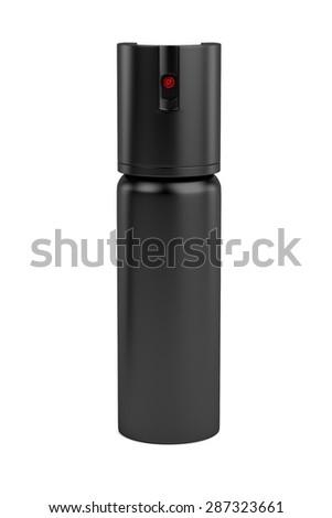 3d render of pepper spray - stock photo