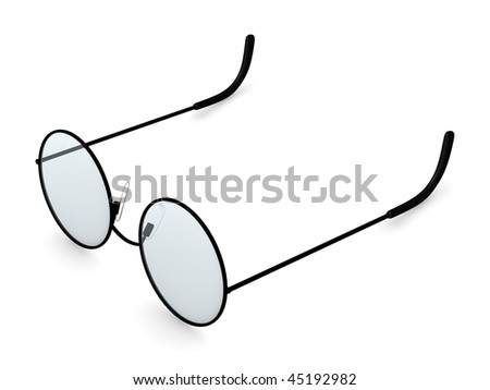 3d render of sun glasses
