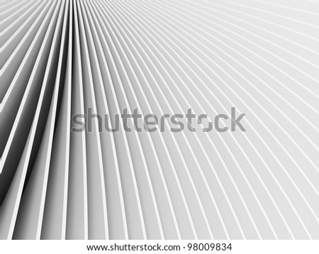 3d rendered abstract grey forms