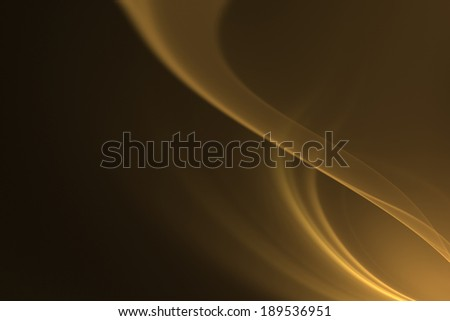 3d rendered abstract illustration with empty place for a text