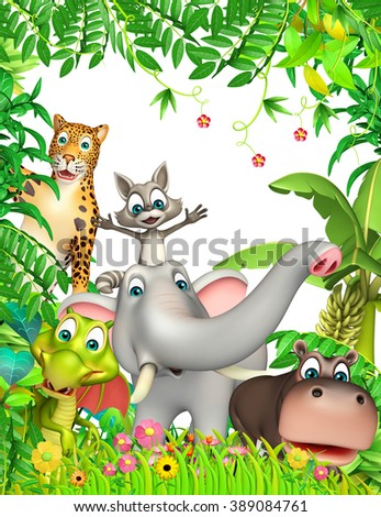 3d rendered illustration of wild animal
