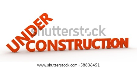 3D Rendered  word - stock photo