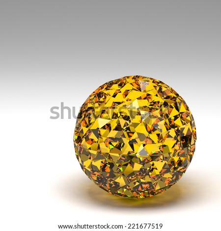 3d rendering basic geometric shapes - stock photo