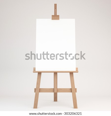 Easel Stock Images Royalty Free Images Amp Vectors