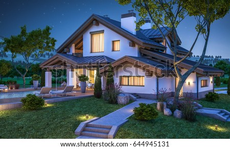 Cozy House Delectable Httpsthumb7.shutterstockdisplay_Pic_With_L. Design Decoration
