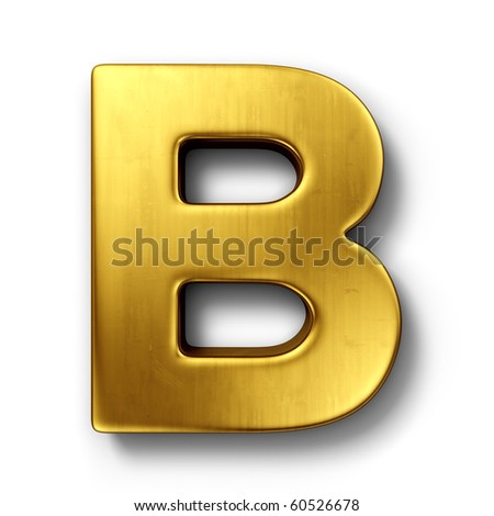3d Letter B Stock Royalty Free & Vectors