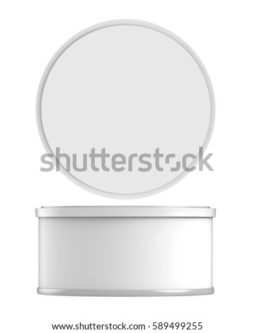 Lid stock images royalty free images vectors shutterstock for Cylinder packaging template
