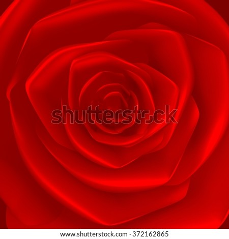 3D rose - great as a background for topics like Valentine's Day, love, feelings, emotions.