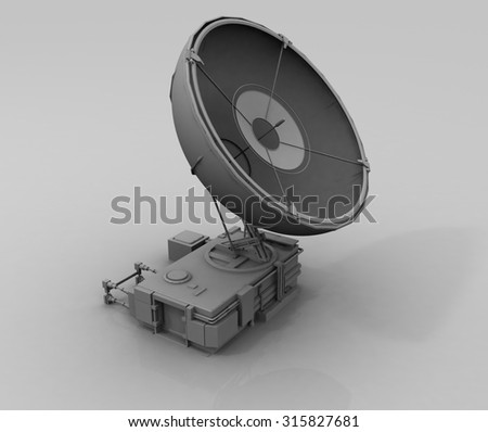 3d satellite station