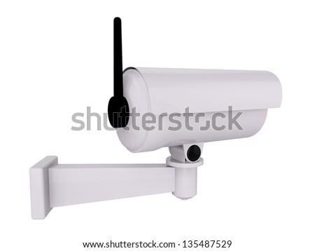 3d Security Camera or CCTV