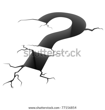 3d specialquestion mark - stock photo