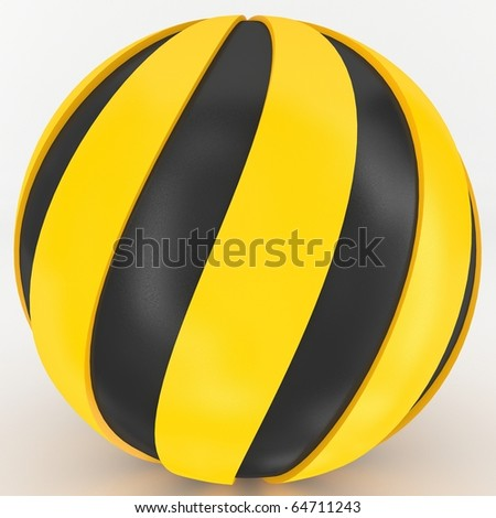3D Sphere - stock photo