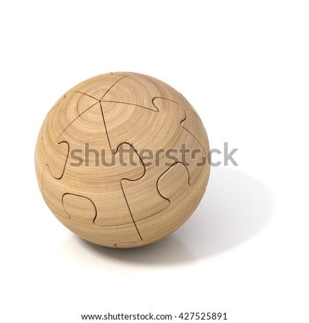3d Spherical Puzzle