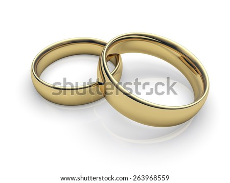 3D. Wedding, Wedding Ring, Ring.