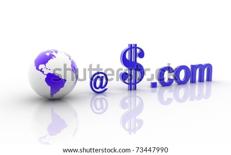 3d world at dollar dot com on a white background