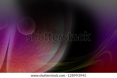 3d Zygote Cell Division in a color background - stock photo