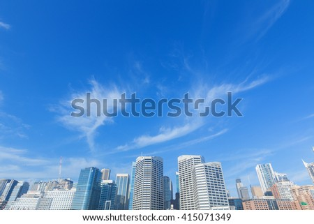 Darling Harbour, Sydney Architecture - stock photo