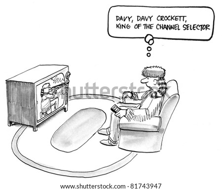 davy davy crockett king of the channel selector