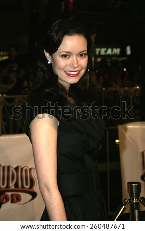 16 December 2004 - Hollywood, California - Summer Glau. The premiere of 'Meet The Fockers' at the Universal Amphitheatre Universal Studios in Hollywood.  - stock photo